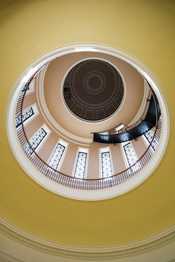 Vertical Photograph - Interior View Of Maine State House by Panoramic Images