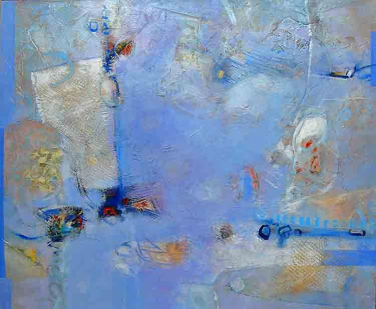 Abstract Painting - Interlude by Dale  Witherow