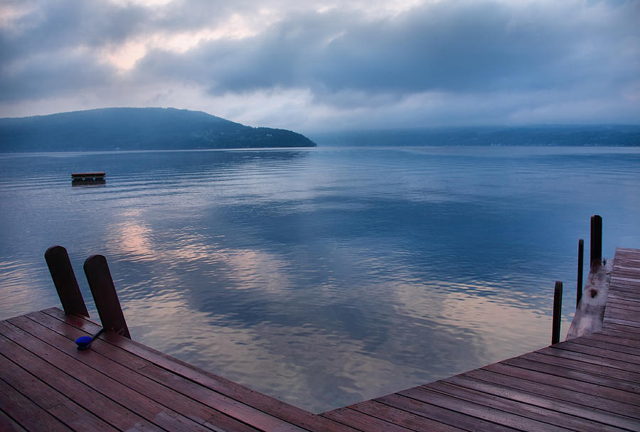 Keuka Lake Photograph - Interlude by Steven Ainsworth