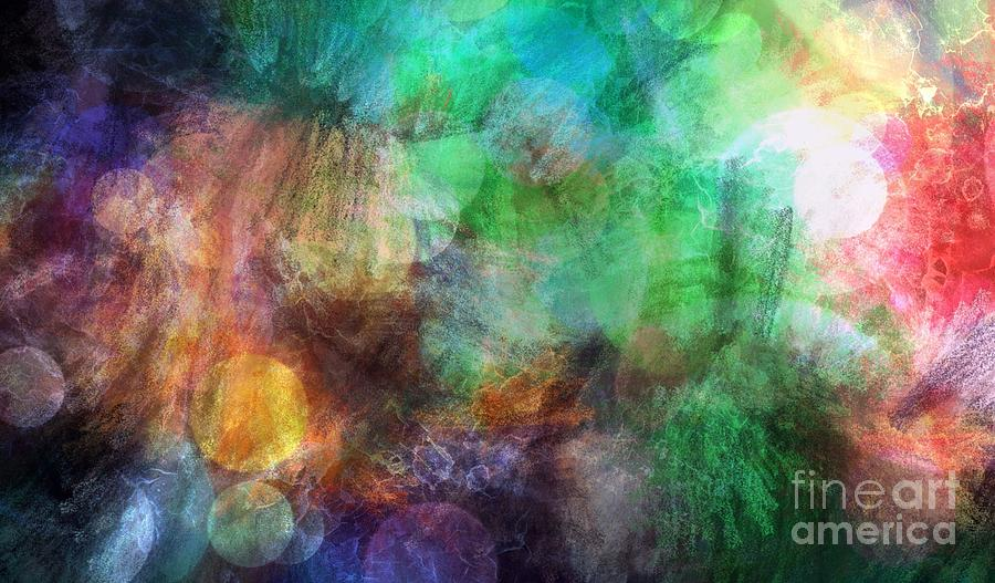 Abstract Painting - Internal Dialogue by Angelica Smith Bill