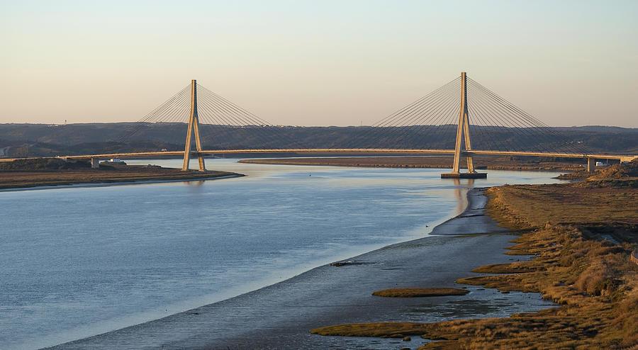 international bridge in the Guadiana river Photograph