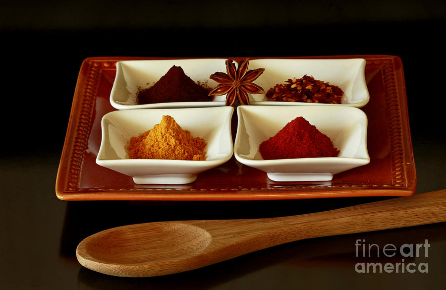 International Photograph - International Flair  Spice It Up by Inspired Nature Photography Fine Art Photography