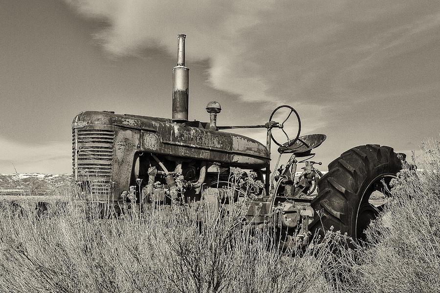 International harvester farmall model m photograph by for International harvester wall decor