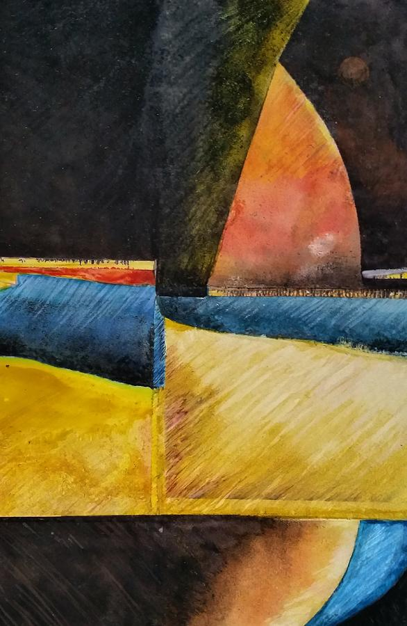 Contemporary Painting - Beyond by Barbara  Rhodes