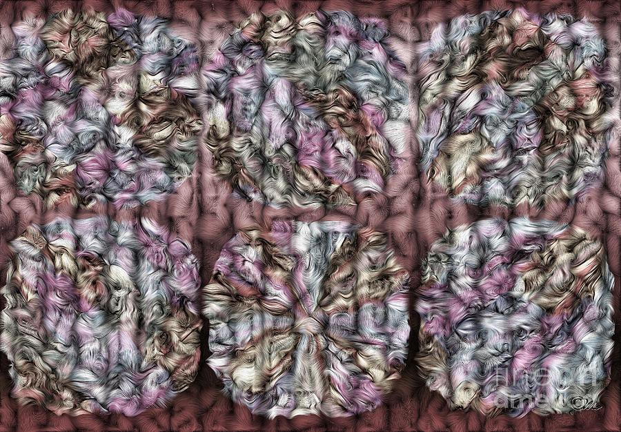 Interwine Digital Art - Interwine by Mo T