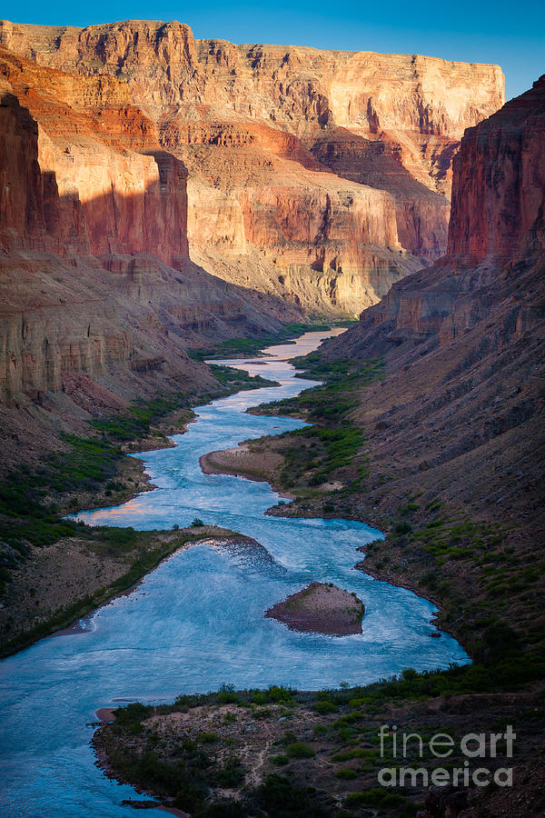 America Photograph - Into The Canyon by Inge Johnsson