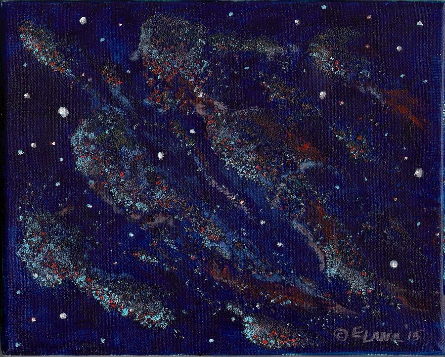 Stars Painting - Into The Cosmos by Elizabeth Lane