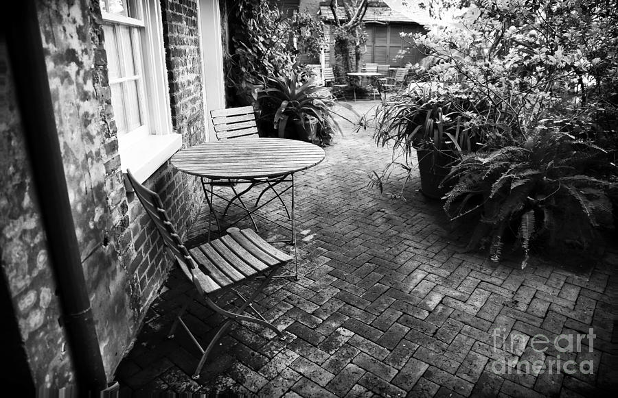 Courtyard Photograph - Into The Courtyard by John Rizzuto