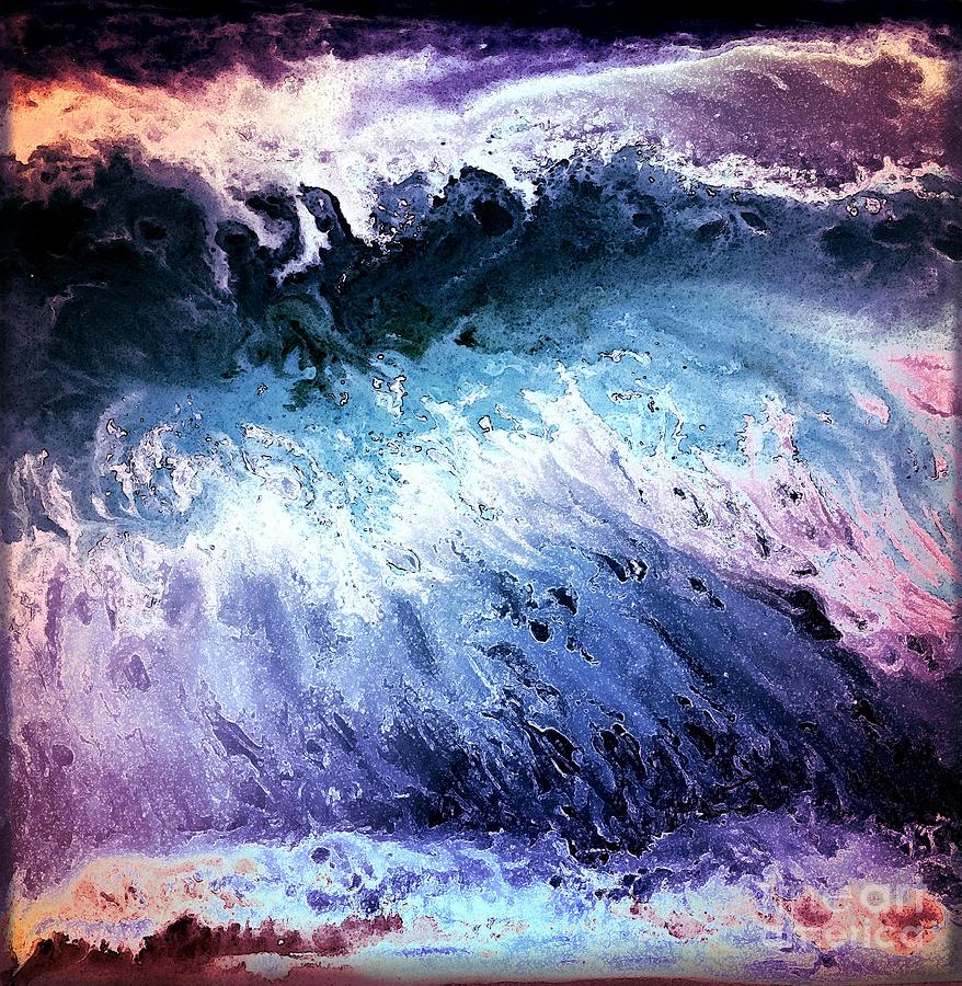 Purple Digital Art - Into The Deep by Patty Vicknair