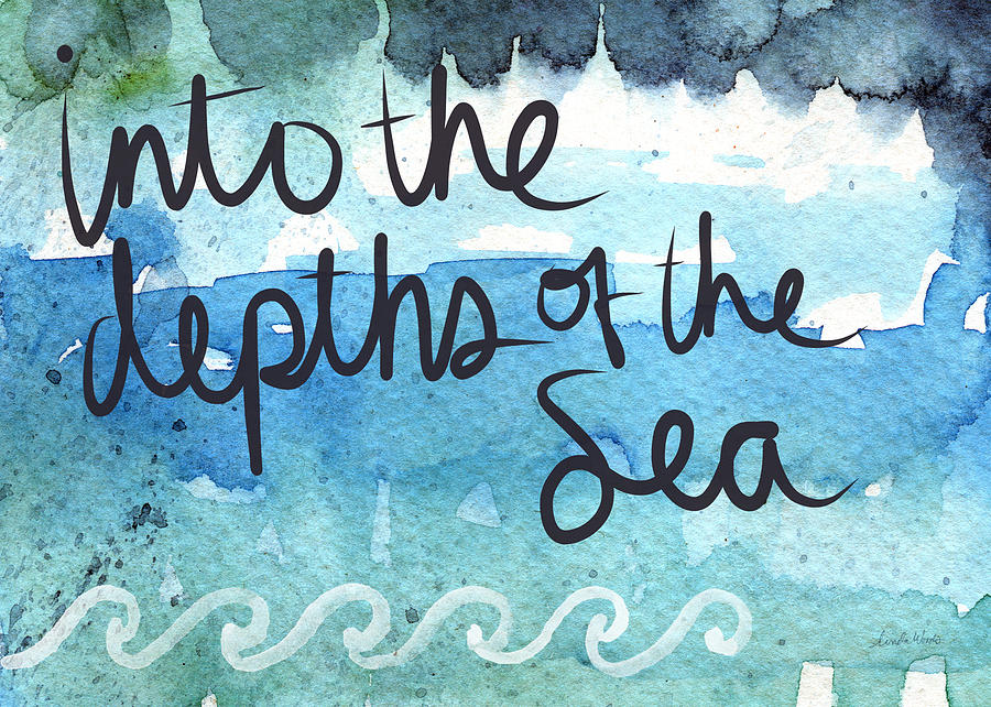 Into The Depths Of The Sea Painting