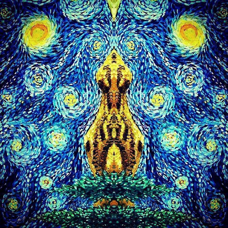 Luminous Painting - Into the Heavens by Sebastian Pierre