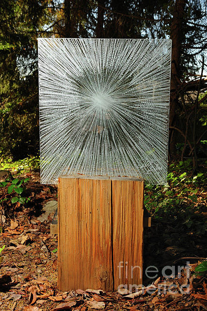 Spiritual Sculpture - Into the Light by Rick Silas