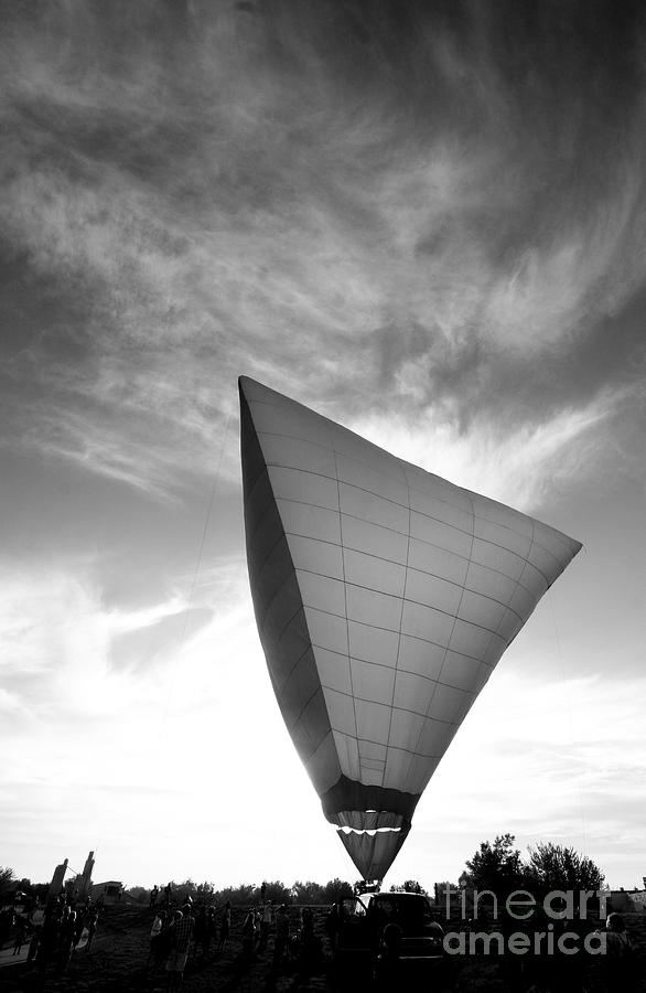 Black And White Photograph - Into The Sky by Jennifer Mecca