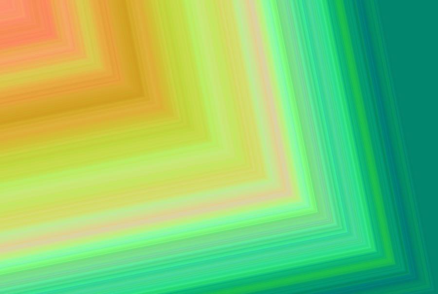 Blues Digital Art - Into The Tunnel 2 by Karen Nicholson
