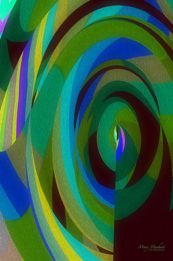 Into The Void Digital Art - Into The Void by Mary Machare