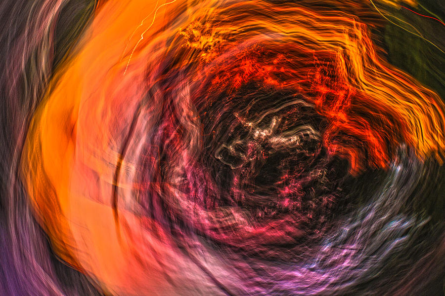 Abstract Photograph - Into The Void by Steve Belovarich