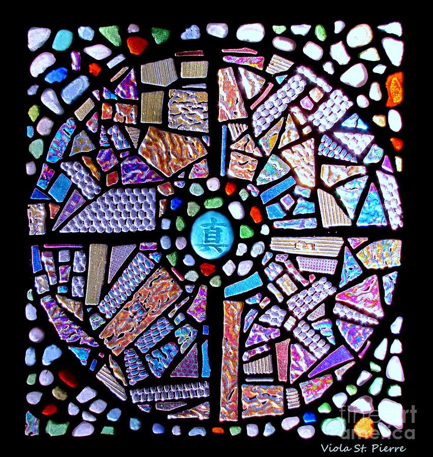 Viola St. Pierre Glass Art - Into The Void by Viola St Pierre