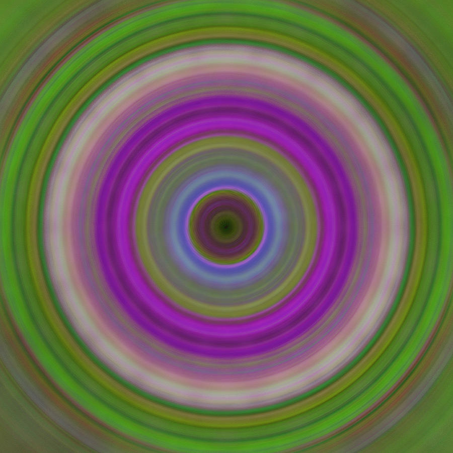 Circles Painting - Introspection - Energy Art By Sharon Cummings by Sharon Cummings