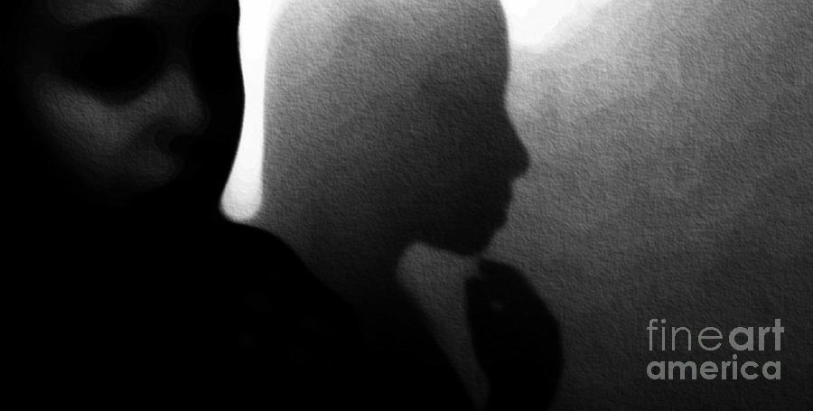 Black Photograph - Introspection by Jessica Shelton