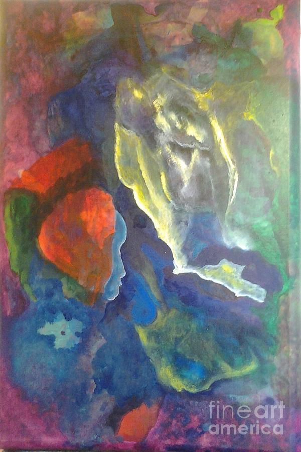 Intuition Painting - Intuition by Bebe Brookman