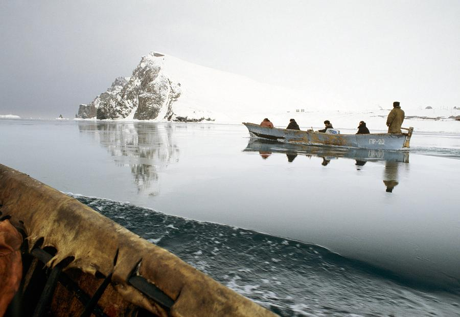 Anthropological Photograph - Inuit Sea Hunters by Science Photo Library