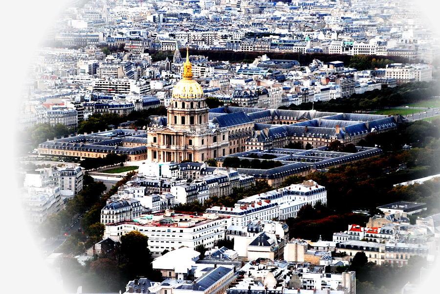 Invalides Photograph - Invalides Paris by Jacqueline M Lewis