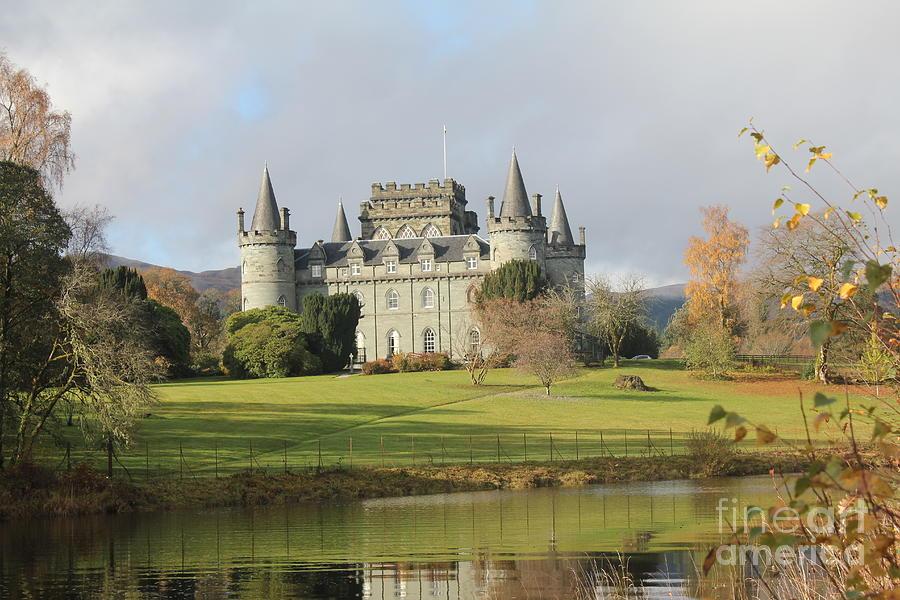 Inveraray Castle Photograph - Inveraray Castle by David Grant