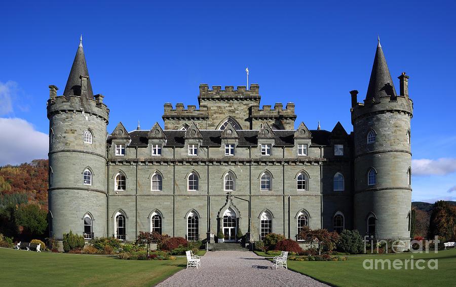 Inveraray Castle Photograph - Inveraray Castle by Maria Gaellman