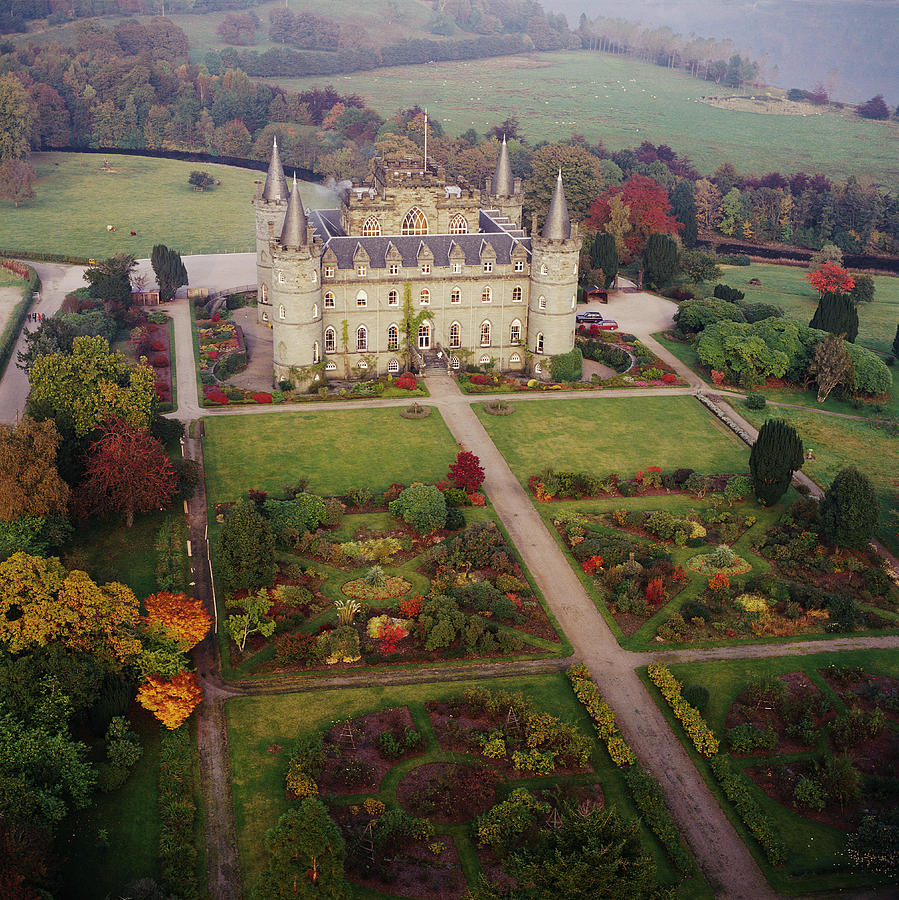 Inverary Castle Photograph - Inverary Castle by Skyscan/science Photo Library