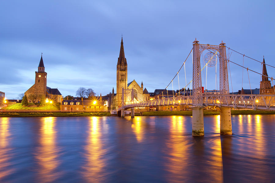 Inverness At Twilight Photograph by Mattstansfield