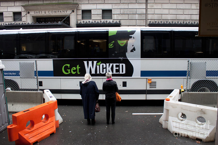 New York Photograph - Invitation To Get Wicked by Thomas Marchessault