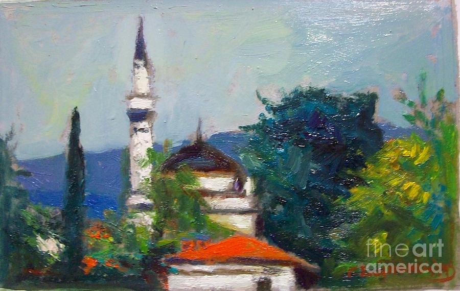 Ioannina Painting by George Siaba