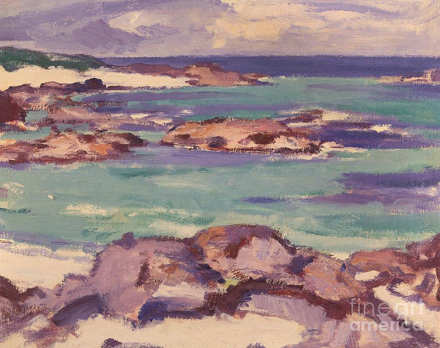 Sea Painting - Iona by Samuel Peploe