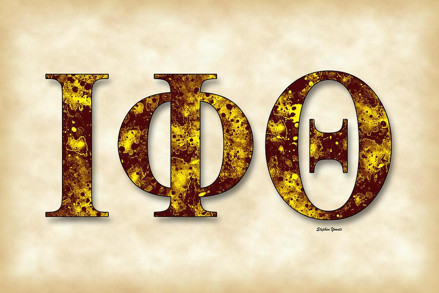 Iota Phi Theta Digital Art - Iota Phi Theta - Parchment by Stephen Younts