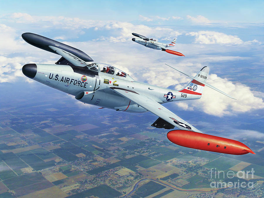 F-89 Digital Art - Iowa Ang F-89j Scorpion by Stu Shepherd