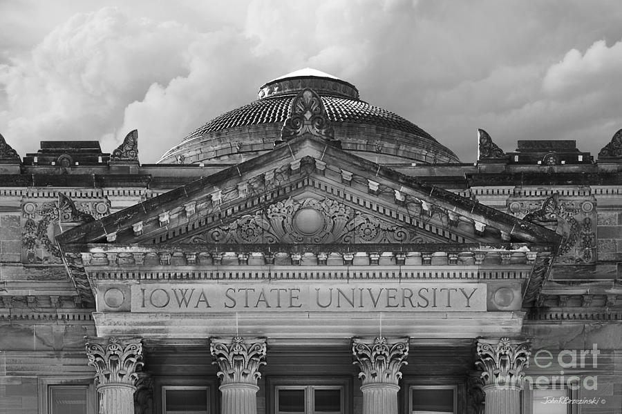 American Photograph - Iowa State University Beardshear Hall by University Icons
