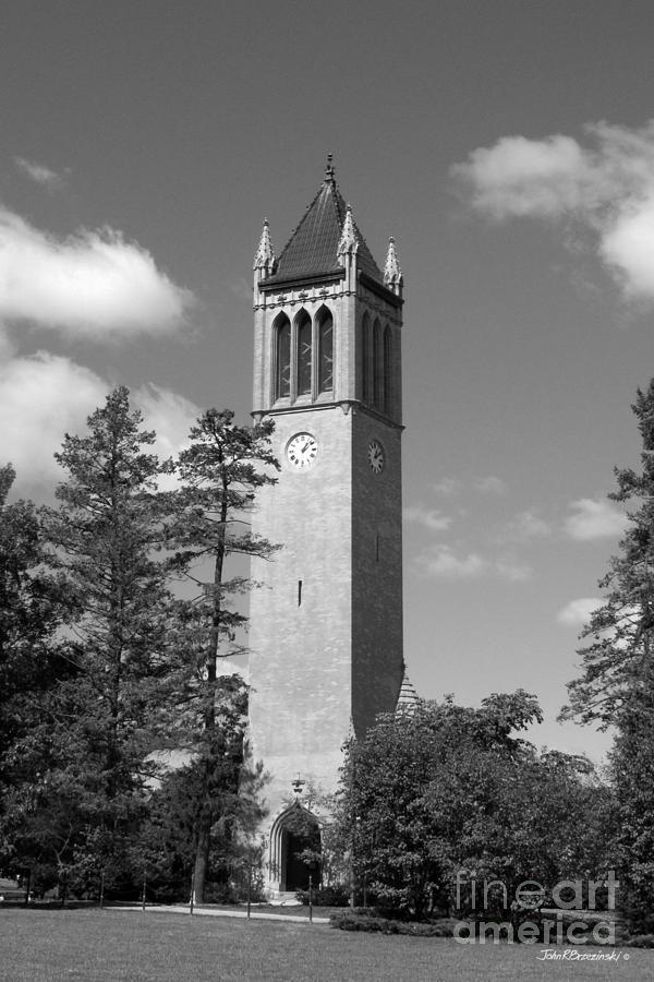 American Photograph - Iowa State University Campanile by University Icons