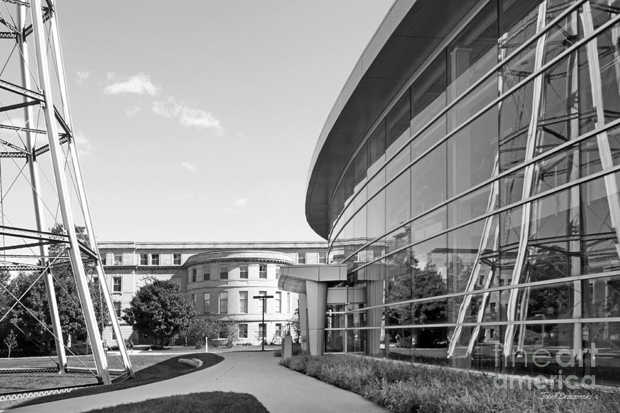 American Photograph - Iowa State University Hoover Hall by University Icons