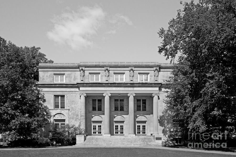 American Photograph - Iowa State University Mac Kay Hall by University Icons
