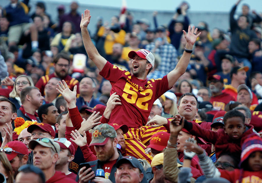 Iowa State V West Virginia Photograph by Justin K. Aller