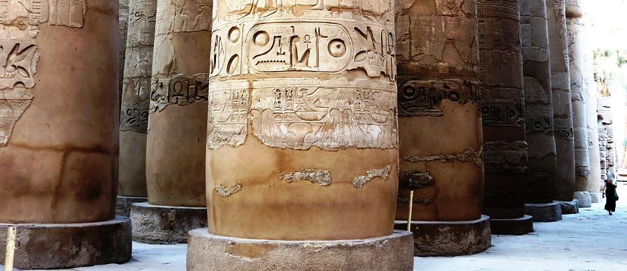 Temple Of Karnak Photograph - Ipet Sut by German Paredes