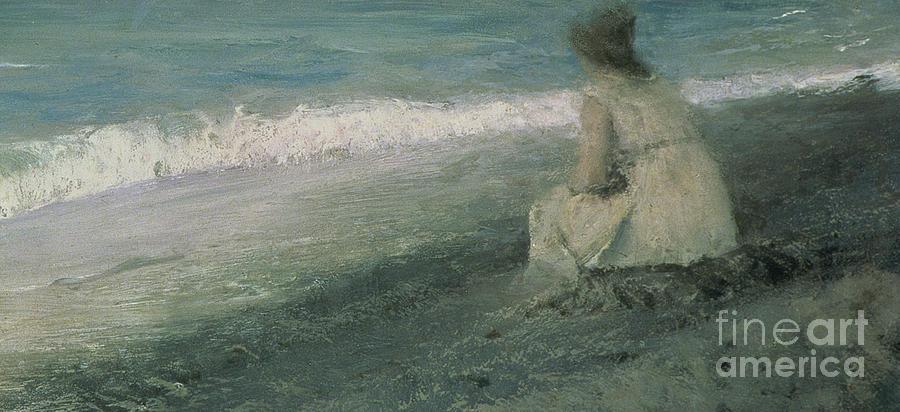 1893 Painting - Iphigenia At Tauris by Valentin A Serov