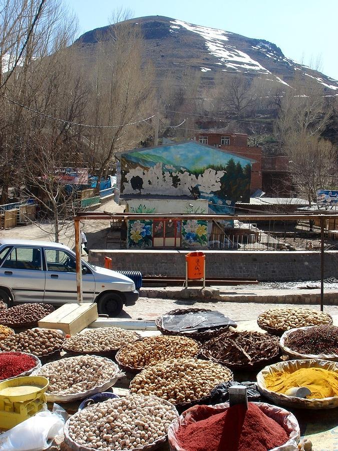Spices Photograph - Iran Kandovan Spices by Lois Ivancin Tavaf