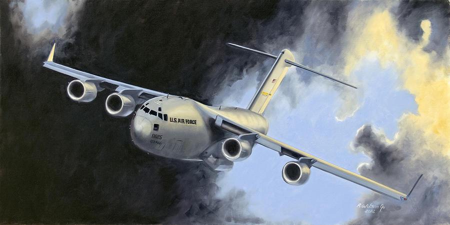 Iraq Painting - Iraqi Bound by Karen Wilson