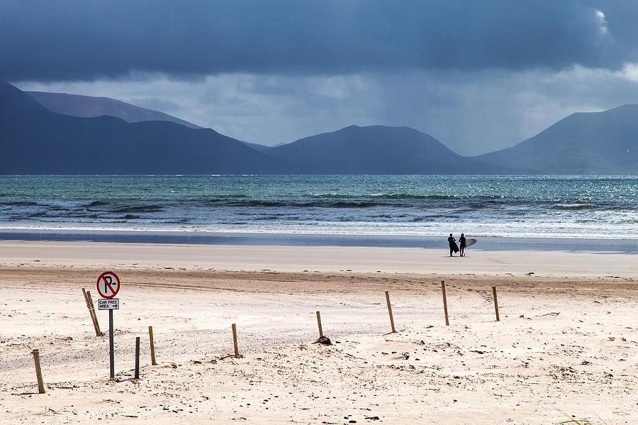 Irland Photograph - Ireland - Inch Beach by Juergen Klust