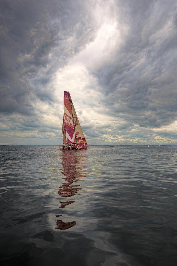 Sail Photograph - Ireland Sail by Chris Cameron