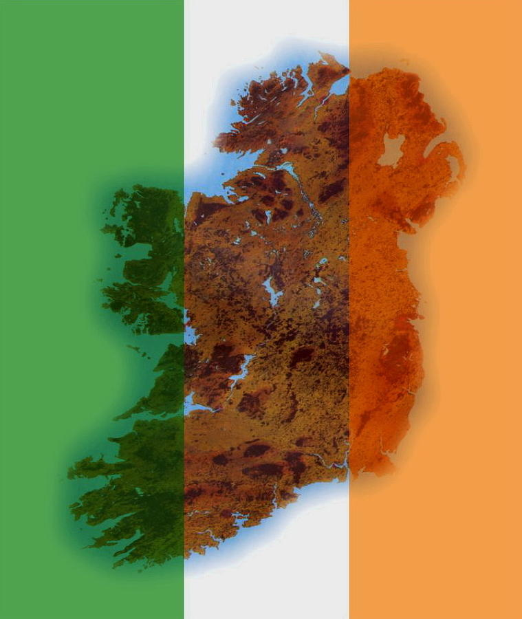 Ireland Tri Colour by Val Byrne