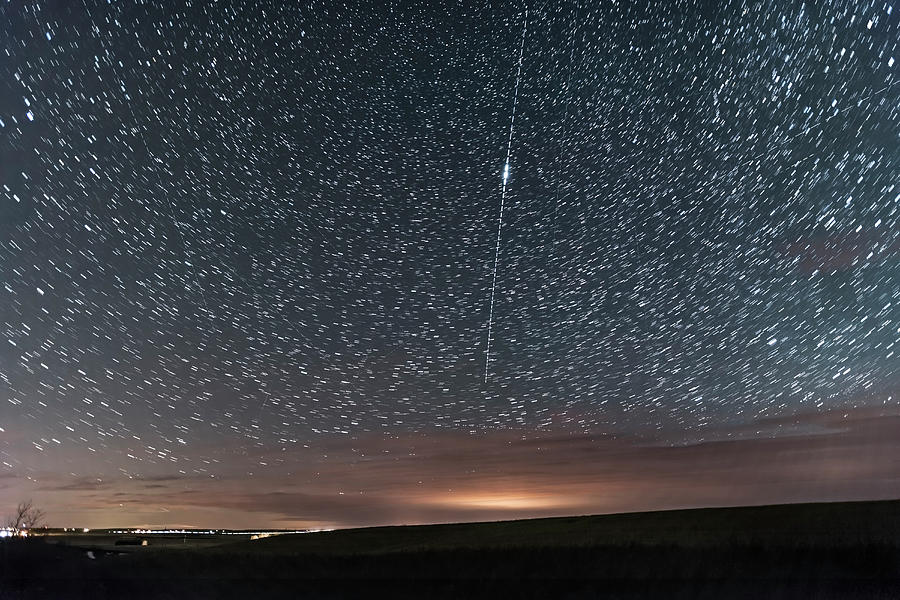 Iridium Satellite Flare In Southern by Alan Dyer