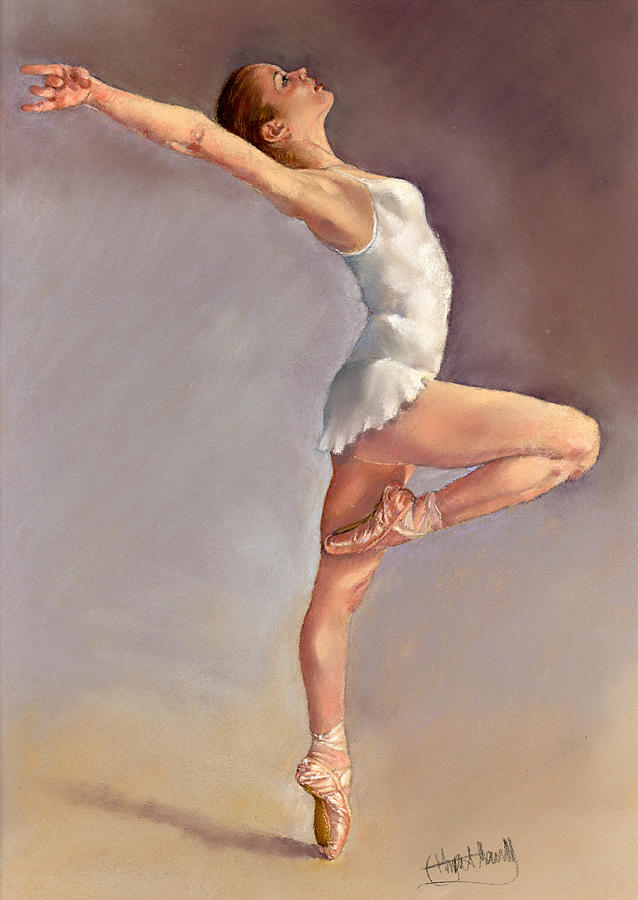 Dance Painting - Irina by Margaret Merry