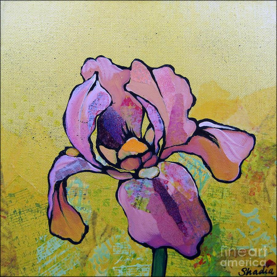 Iris I Painting